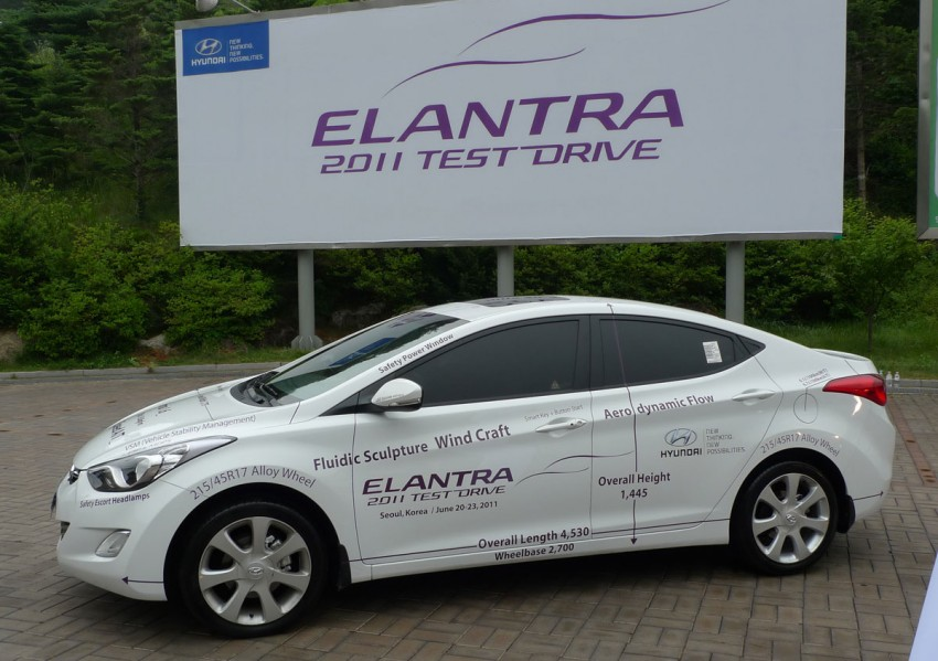 DRIVEN: Hyundai Elantra MD tested in Korea! Image #96935