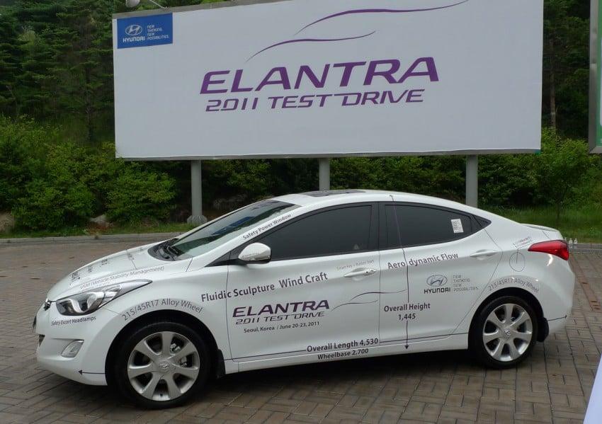 DRIVEN: Hyundai Elantra MD tested in Korea! Image #96935