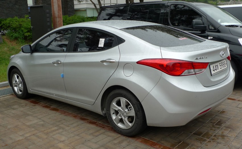 DRIVEN: Hyundai Elantra MD tested in Korea! Image #96936
