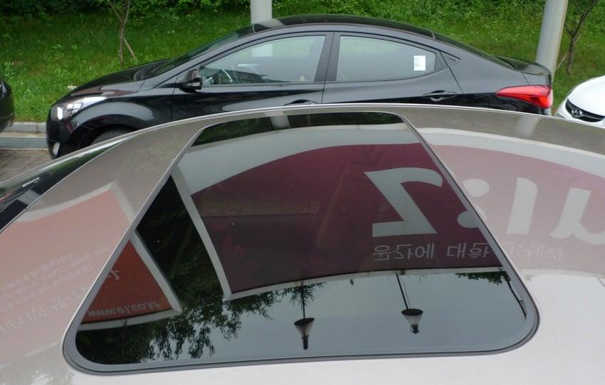 DRIVEN: Hyundai Elantra MD tested in Korea! Image #96938