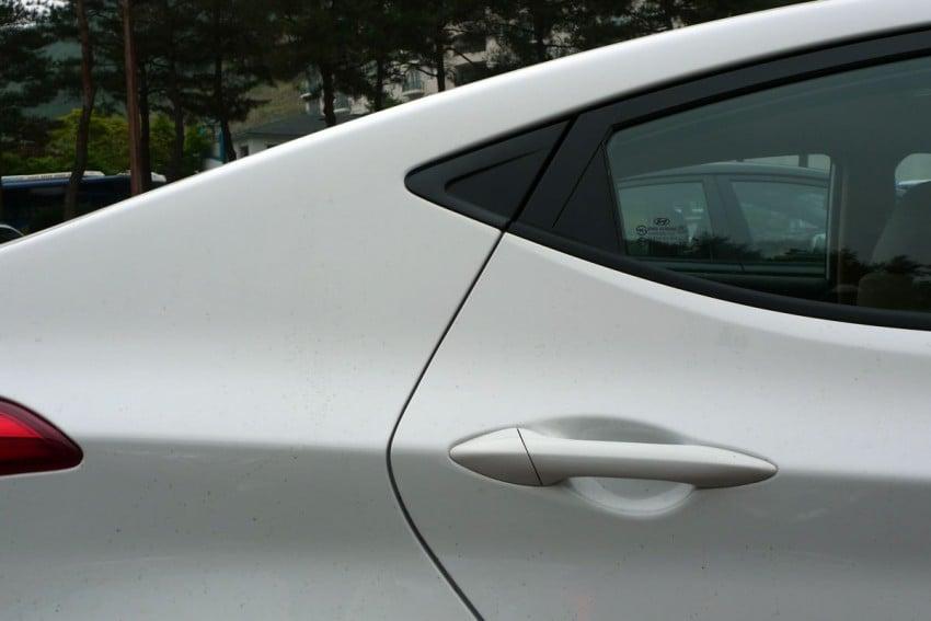 DRIVEN: Hyundai Elantra MD tested in Korea! Image #96941