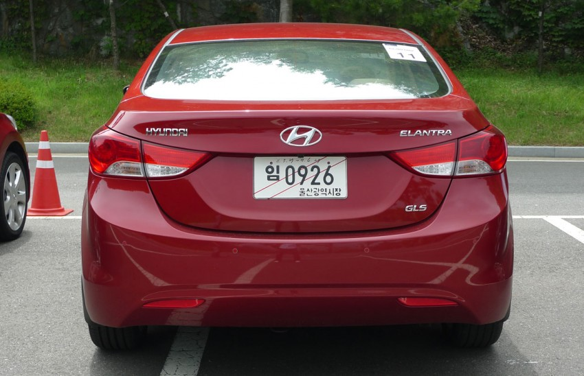 DRIVEN: Hyundai Elantra MD tested in Korea! Image #96946