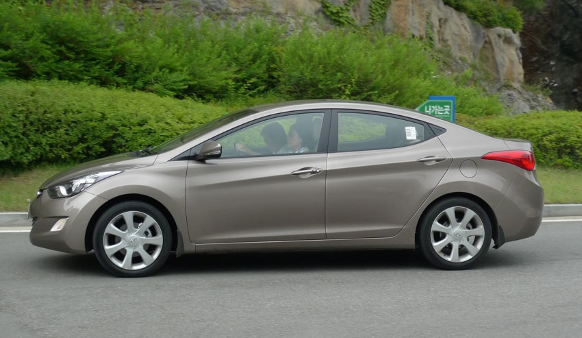 DRIVEN: Hyundai Elantra MD tested in Korea! Image #96948