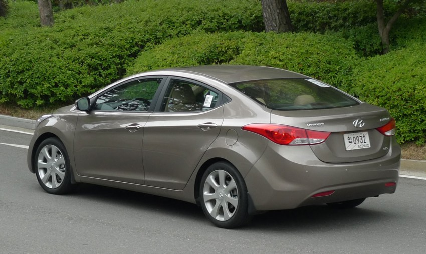 DRIVEN: Hyundai Elantra MD tested in Korea! Image #96949