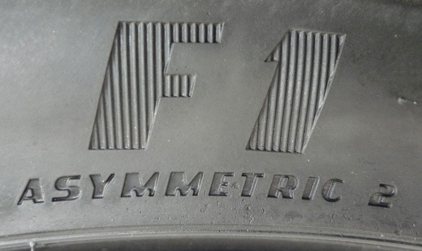 Goodyear Eagle F1 Asymmetric 2 sampled on the road Image #84528