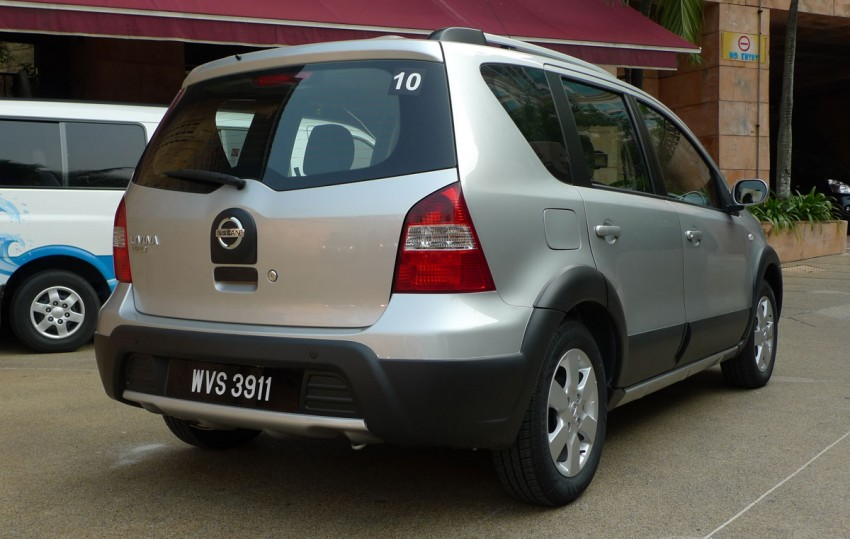 Test Drive Report: New Nissan Livina X-Gear 1.6 Auto Image #67320