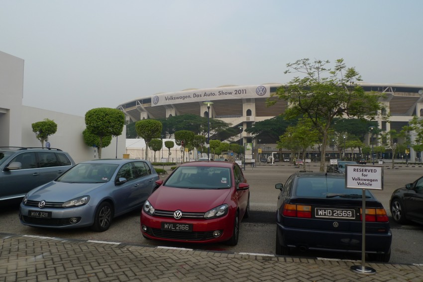Volkswagen.Das Auto.Show 2011 happens this weekend at the Bukit Jalil Stadium carpark – admission is free! Image #67697