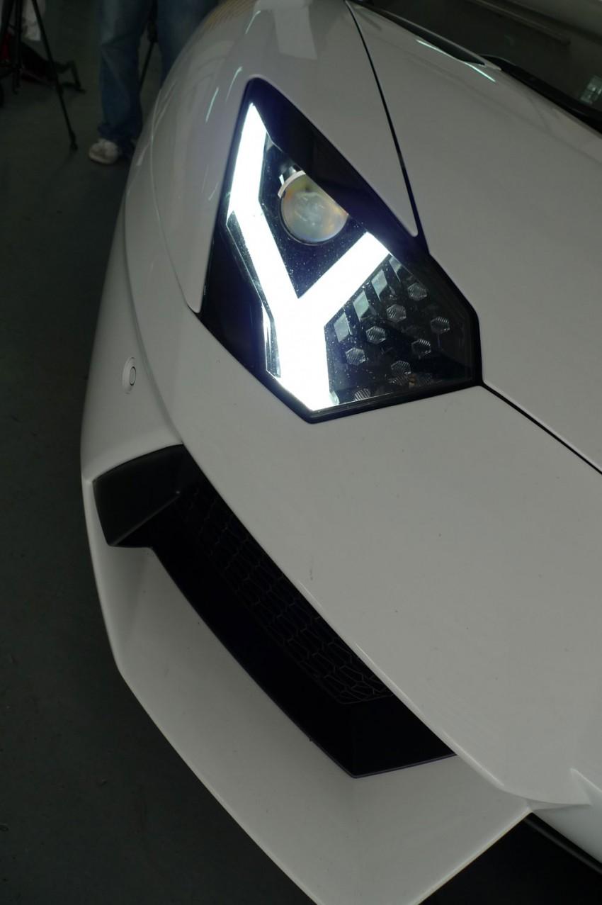 DRIVEN: Lamborghini Aventador LP700-4 in Sepang Image #70503