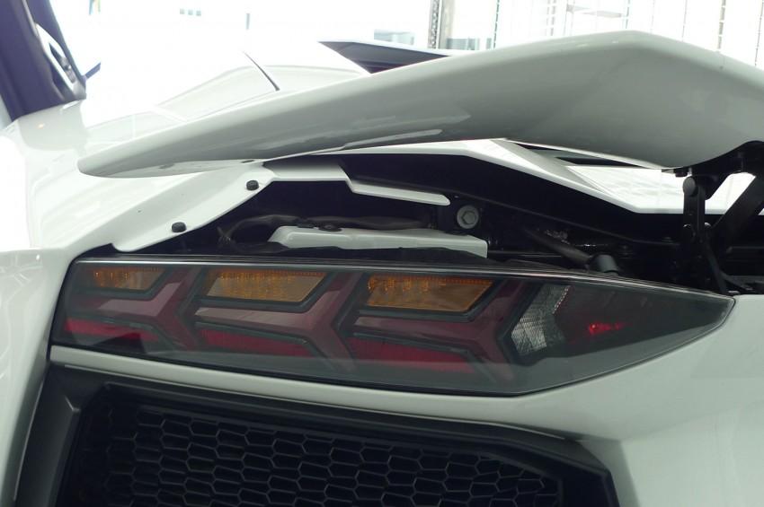 DRIVEN: Lamborghini Aventador LP700-4 in Sepang Image #70505