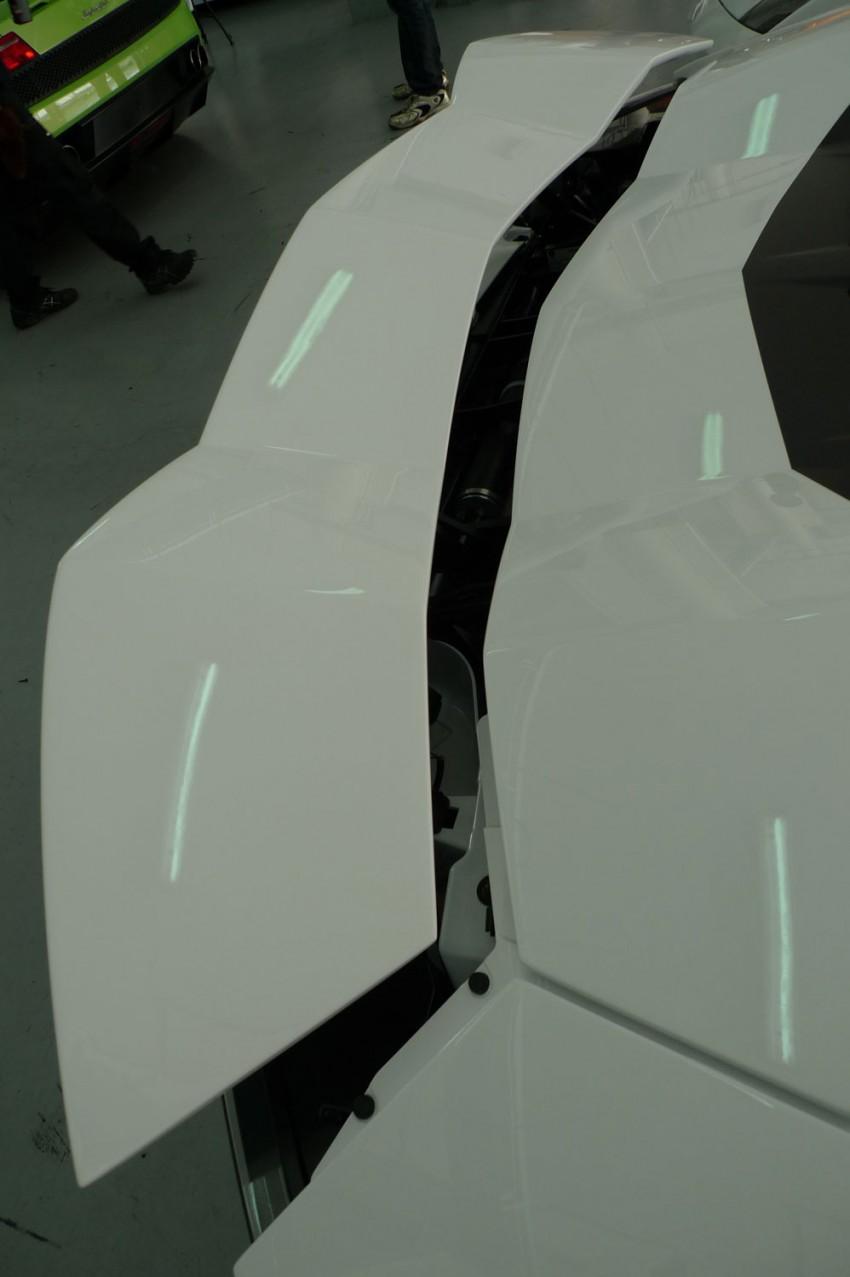 DRIVEN: Lamborghini Aventador LP700-4 in Sepang Image #70520