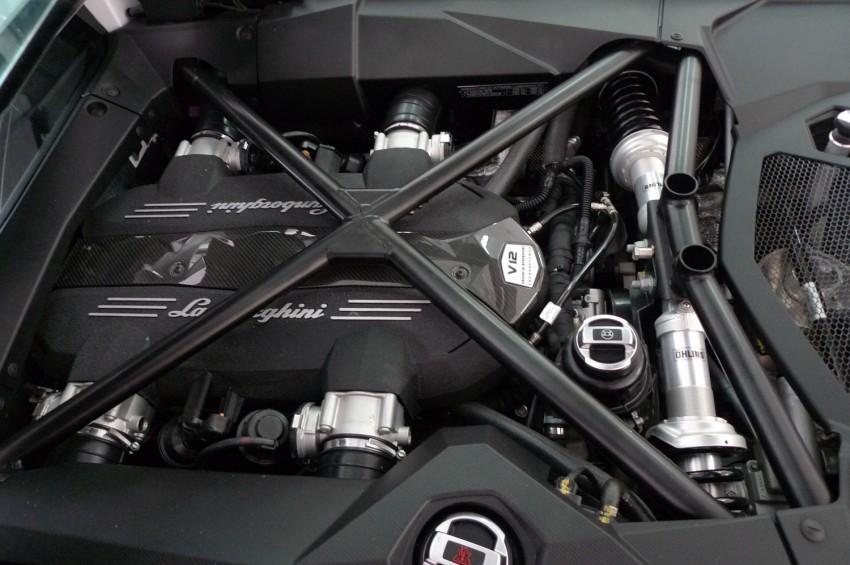 DRIVEN: Lamborghini Aventador LP700-4 in Sepang Image #70541