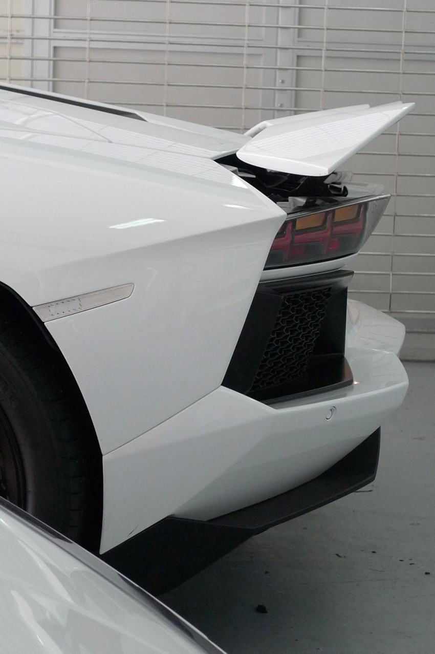 DRIVEN: Lamborghini Aventador LP700-4 in Sepang Image #70545