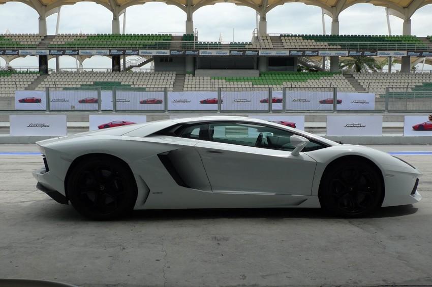 DRIVEN: Lamborghini Aventador LP700-4 in Sepang Image #70551