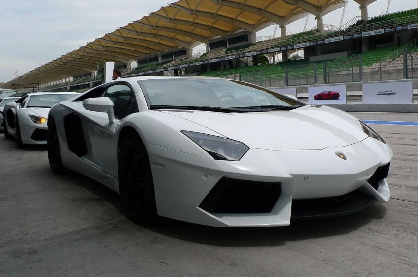 DRIVEN: Lamborghini Aventador LP700-4 in Sepang Image #70552