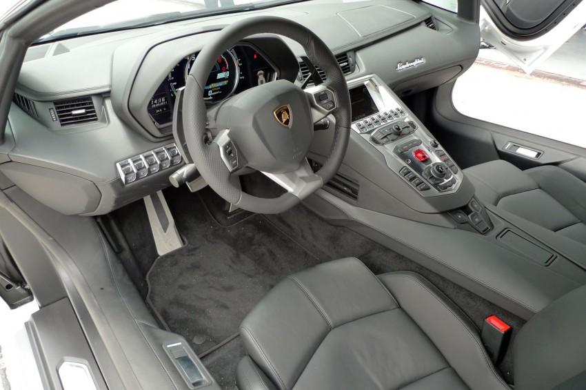 DRIVEN: Lamborghini Aventador LP700-4 in Sepang Image #70553
