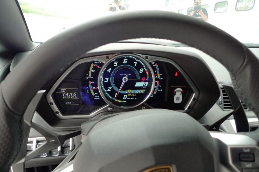 DRIVEN: Lamborghini Aventador LP700-4 in Sepang Image #70554