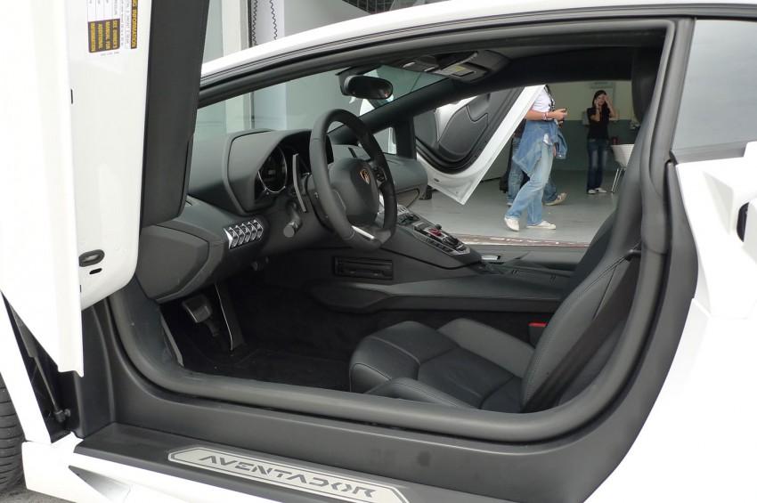 DRIVEN: Lamborghini Aventador LP700-4 in Sepang Image #70556