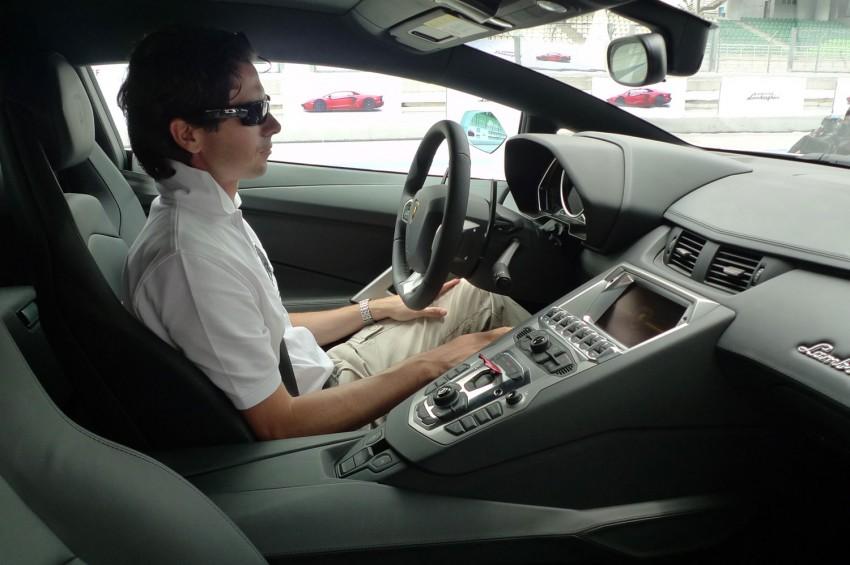 DRIVEN: Lamborghini Aventador LP700-4 in Sepang Image #70557
