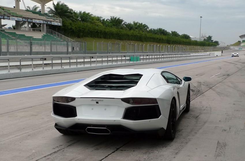 DRIVEN: Lamborghini Aventador LP700-4 in Sepang Image #70558