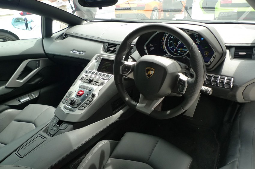 DRIVEN: Lamborghini Aventador LP700-4 in Sepang Image #70567