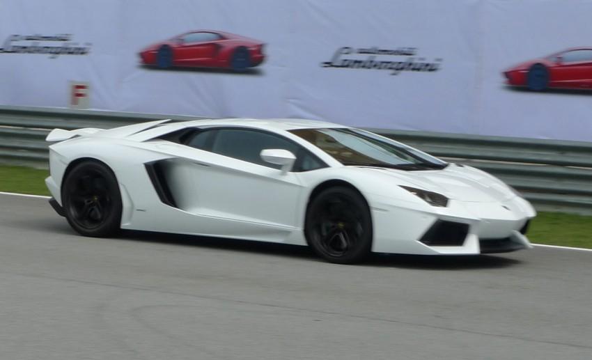 DRIVEN: Lamborghini Aventador LP700-4 in Sepang Image #70571