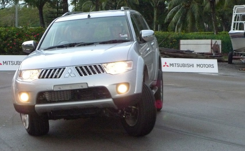 Mitsubishi Pajero Sport VGT Test Drive Report from Sabah Image #73918