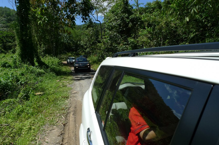 Mitsubishi Pajero Sport VGT Test Drive Report from Sabah Image #73927