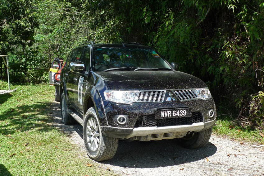Mitsubishi Pajero Sport VGT Test Drive Report from Sabah Image #73932