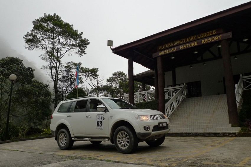 Mitsubishi Pajero Sport VGT Test Drive Report from Sabah Image #73935