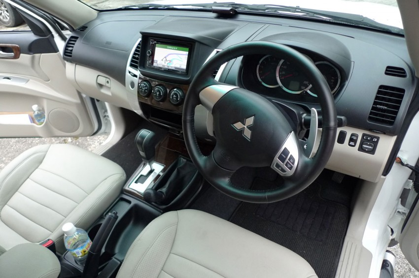 Mitsubishi Pajero Sport VGT Test Drive Report from Sabah Image #73939
