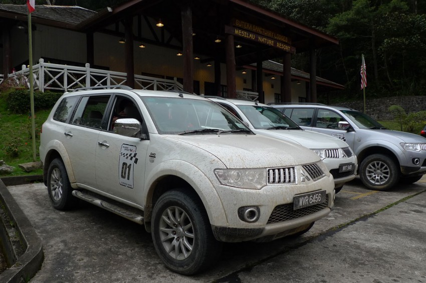 Mitsubishi Pajero Sport VGT Test Drive Report from Sabah Image #73940