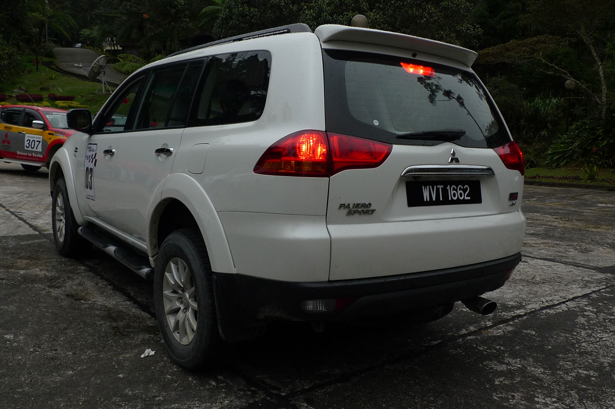 Mitsubishi Pajero Sport VGT Test Drive Report from Sabah
