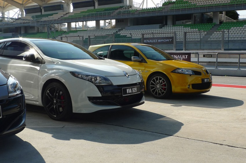 Megane RS 250 shines at exclusive Renault Sport trackday Image #76550