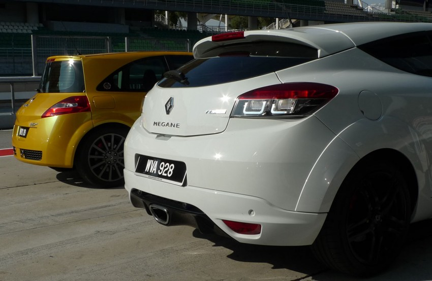 Megane RS 250 shines at exclusive Renault Sport trackday Image #76551