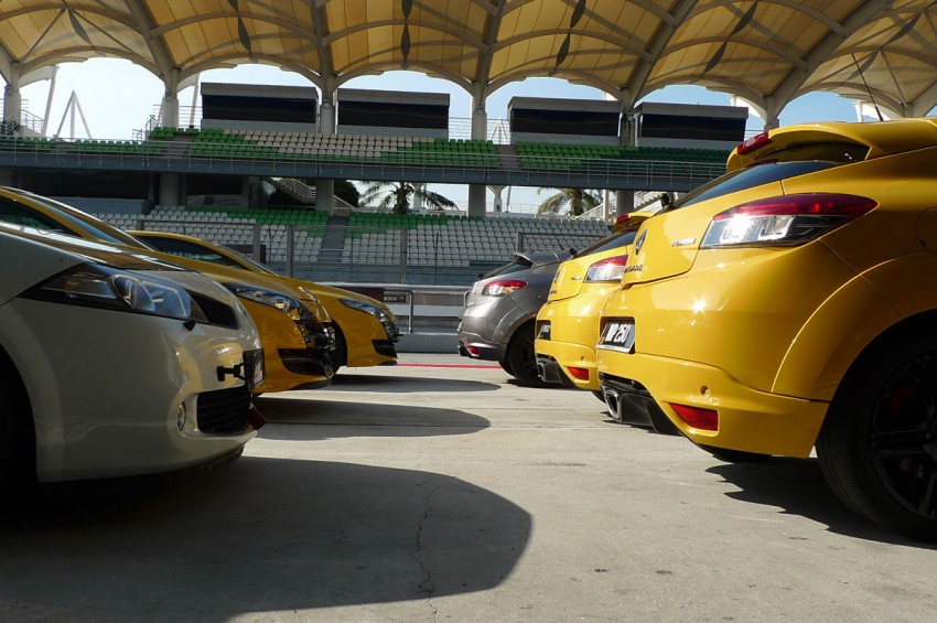 Megane RS 250 shines at exclusive Renault Sport trackday Image #76552