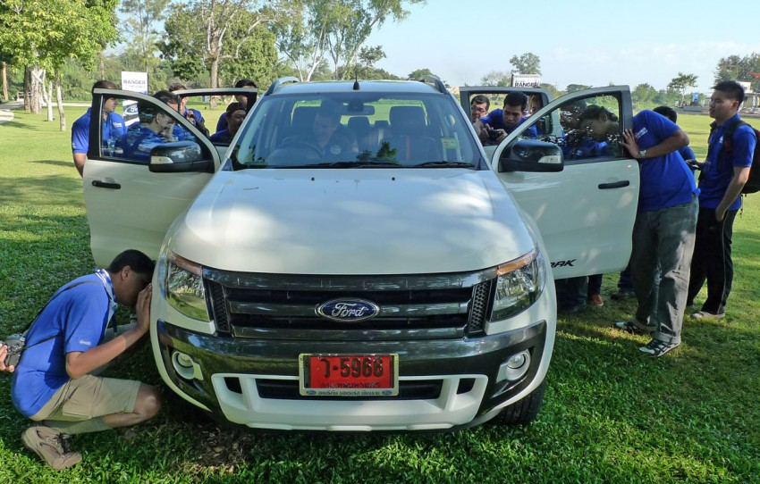 New Ford Ranger T6 Test Drive Report from Chiang Rai Image #77509
