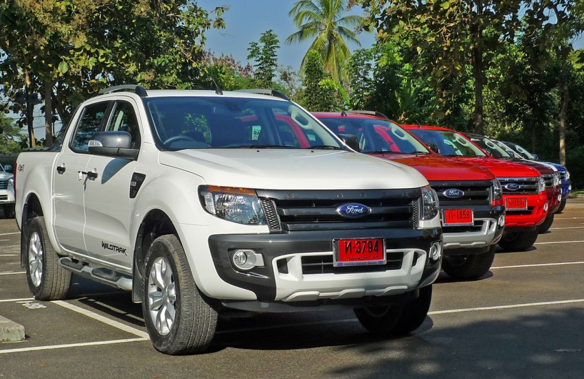 New Ford Ranger T6 Test Drive Report from Chiang Rai Image #77520