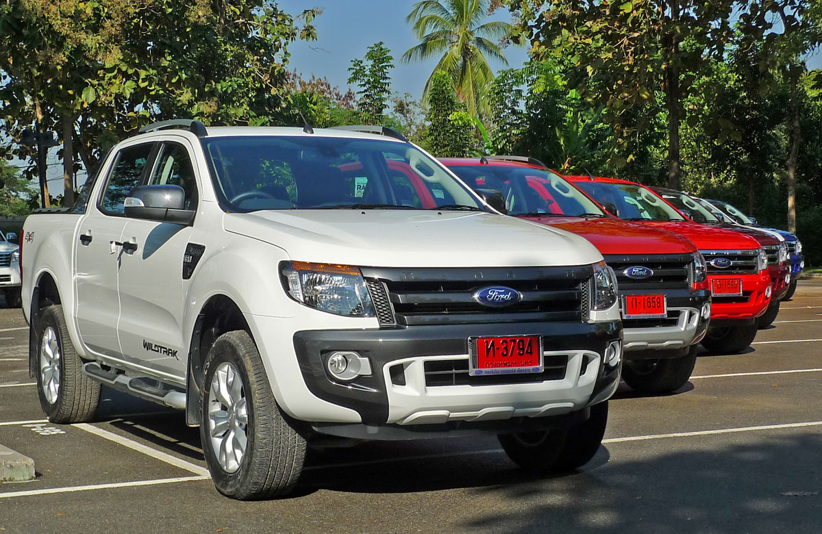 new ford ranger t6 test drive report from chiang rai. Black Bedroom Furniture Sets. Home Design Ideas