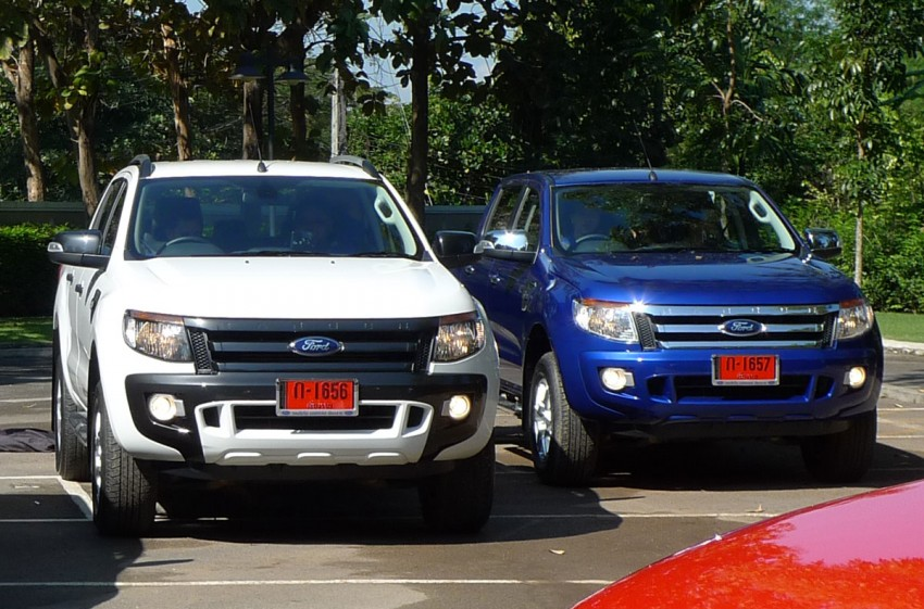 New Ford Ranger T6 Test Drive Report from Chiang Rai Image #77521
