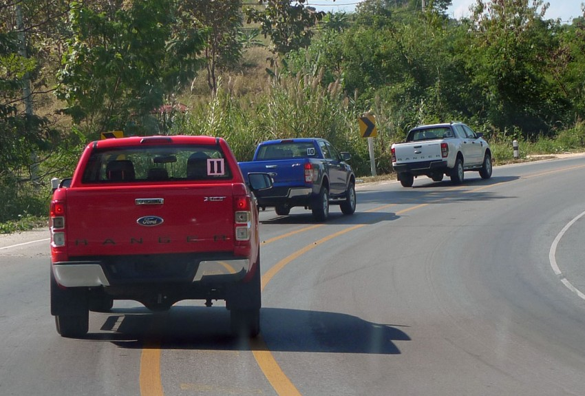 New Ford Ranger T6 Test Drive Report from Chiang Rai Image #77528