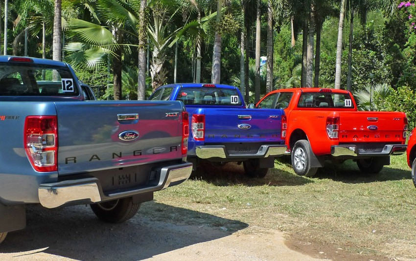 New Ford Ranger T6 Test Drive Report from Chiang Rai Image #77529
