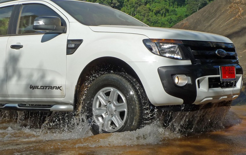 New Ford Ranger T6 Test Drive Report from Chiang Rai Image #77544