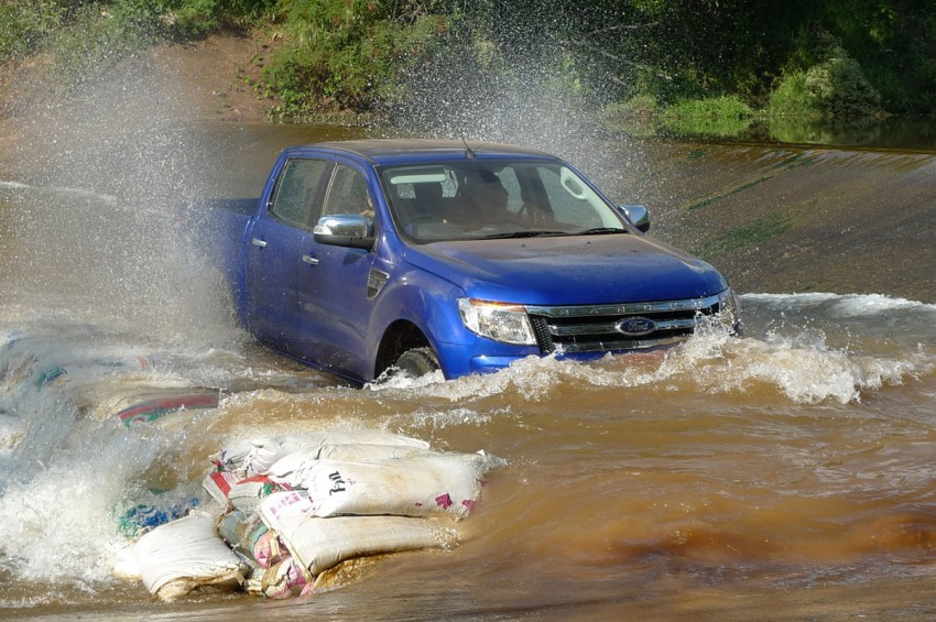 New Ford Ranger T6 Test Drive Report from Chiang Rai Image #77545