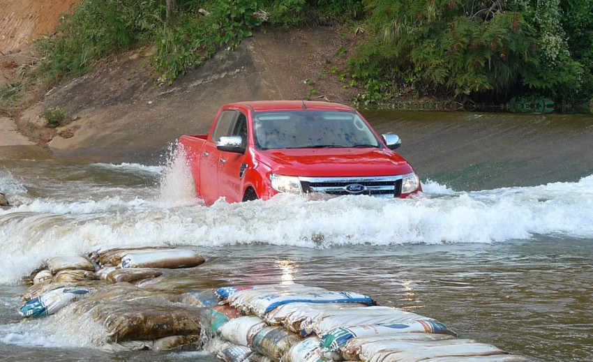 New Ford Ranger T6 Test Drive Report from Chiang Rai Image #77547