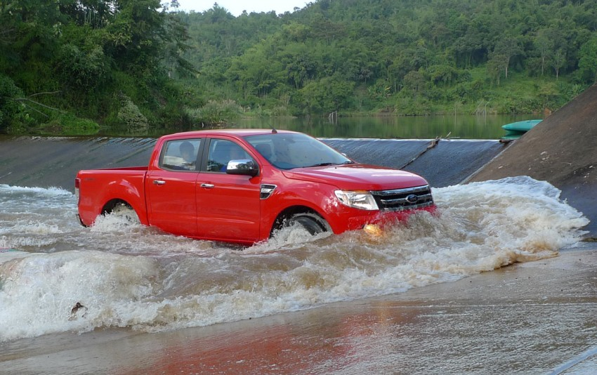 New Ford Ranger T6 Test Drive Report from Chiang Rai Image #77548