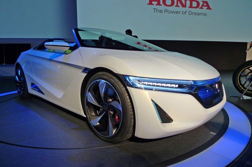 Tokyo 2011: Honda EV-STER previews electric powered, rear-wheel drive, two-seater convertible Image #78278