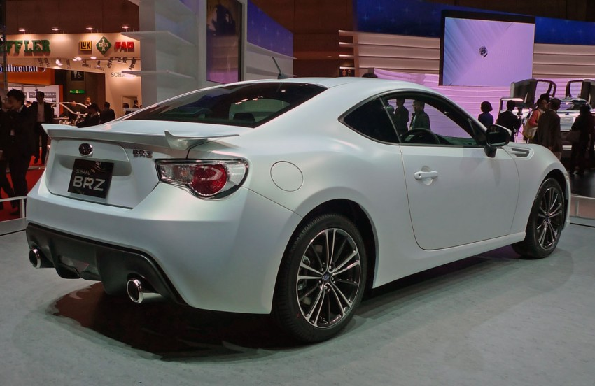 LIVE from Tokyo: Subaru BRZ, sister of the prom queen Image #78779