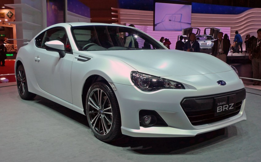 LIVE from Tokyo: Subaru BRZ, sister of the prom queen Image #78782