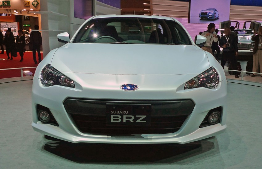 LIVE from Tokyo: Subaru BRZ, sister of the prom queen Image #78783
