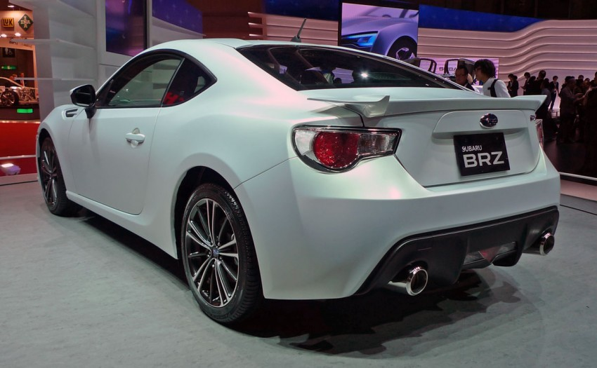 LIVE from Tokyo: Subaru BRZ, sister of the prom queen Image #78786